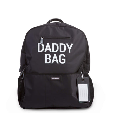 Daddy Backpack - Black - Posh Baby Co.