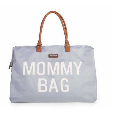 Mommy Bag - Big Grey - Posh Baby Co.