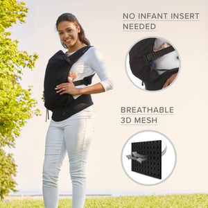 Contours Love 3-in-1 Baby Carrier - Black - Posh Baby Co.