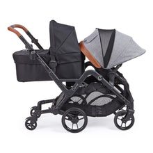 Load image into Gallery viewer, Contours Curve Double Stroller - Graphite Gray - Posh Baby Co.