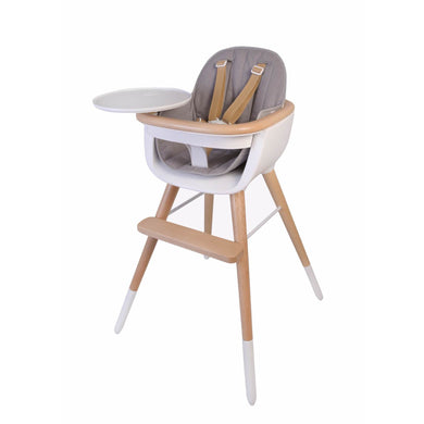 Micuna OVO Max Luxe High Chair With PU Leather Belts - Posh Baby Co.