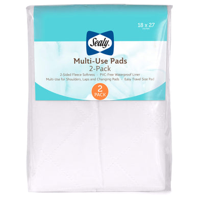 Sealy Multi-Use Pad, 2 Pack, Crib Mattress Pad - Posh Baby Co.