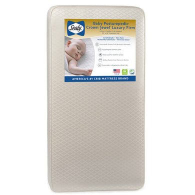 Sealy Baby PP Crown Jewel Firm Luxury Crib and Toddler Mattress - Posh Baby Co.