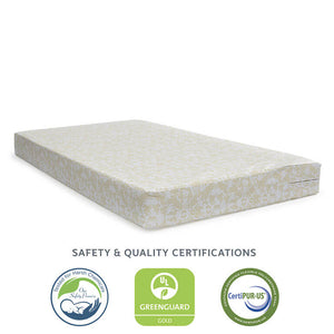 Sealy Butterfly Waterproof Crib & Toddler Mattress-in-a-Box - Posh Baby Co.