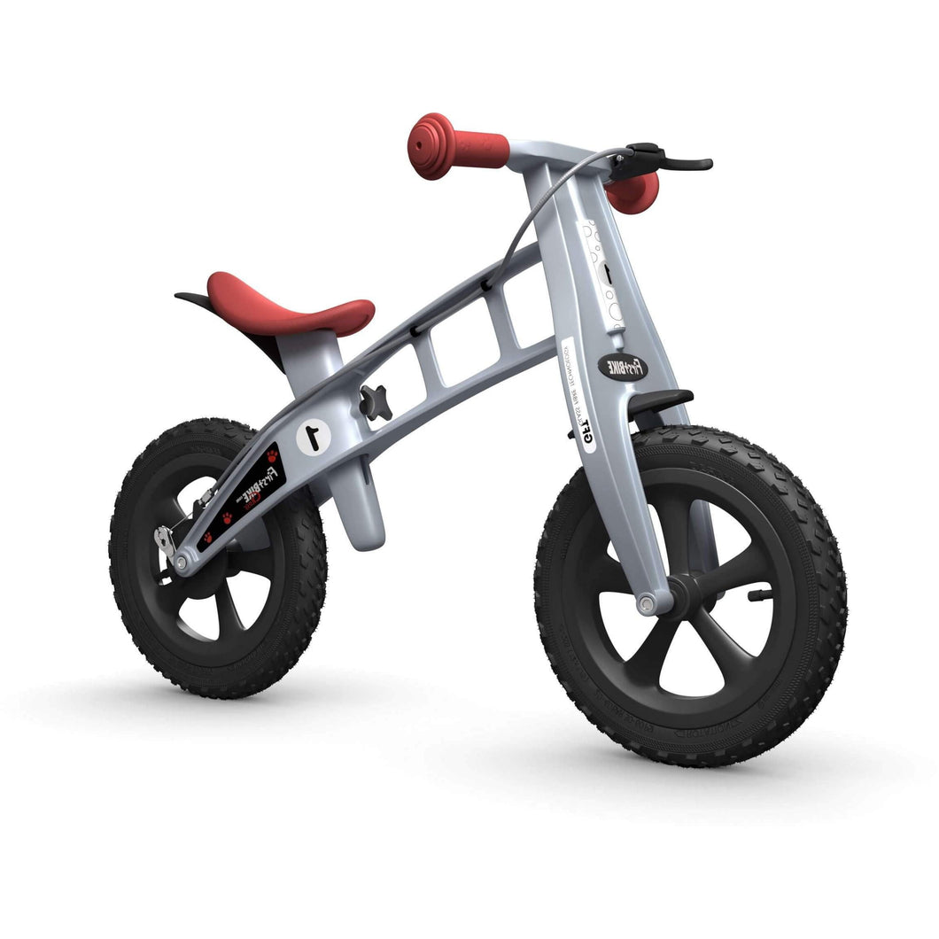 FirstBIKE Cross Balance Bike - Silver - Posh Baby Co.