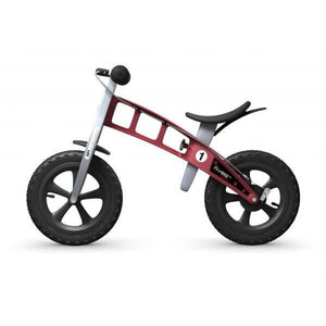 FirstBIKE Cross Balance Bike - Red - Posh Baby Co.