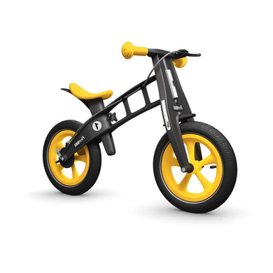 FirstBIKE Limited Balance Bike - Yellow - Posh Baby Co.