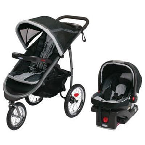 Graco FastAction Fold Jogger Click Connect Travel System - Gotham - Posh Baby Co.