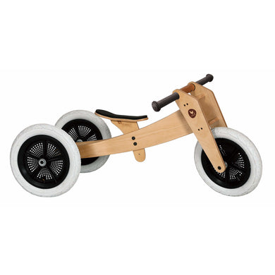 Wishbone Bike Original 3-In-1 - Natural - Posh Baby Co.