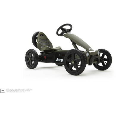 BERG Rally Jeep® Adventure Pedal Go-Kart
