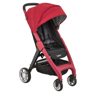 Larktale Chit Chat Stroller - Barossa Red - Posh Baby Co.