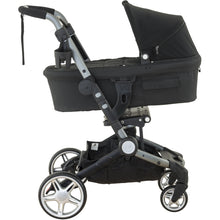 Load image into Gallery viewer, Larktale Coast Carry Cot - Black - Posh Baby Co.