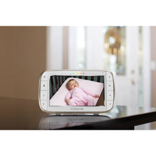 "Load image into Gallery viewer, Motorola MBP855 CONNECT-2 - 5"" Video HD Wi-Fi Baby Monitor with 2 Cameras"