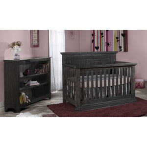 Pali Modena Forever Convertible Crib - Granite - Posh Baby Co.