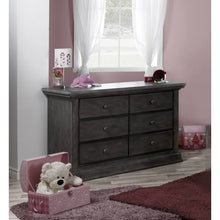 Load image into Gallery viewer, Pali Modena Double Dresser - Granite - Posh Baby Co.