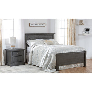 Pali Modena Collection 3-Piece Nursery Furniture Set - Granite - Posh Baby Co.