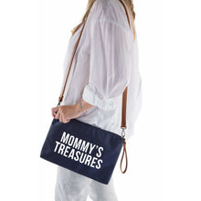 Load image into Gallery viewer, ChildHome Mommy's Treasures Clutch - Navy