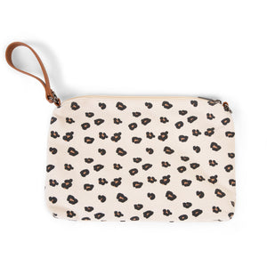 ChildHome Mommy's Treasures Clutch - Leopard Canvas