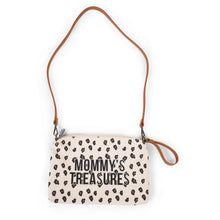 Load image into Gallery viewer, ChildHome Mommy's Treasures Clutch - Leopard Canvas