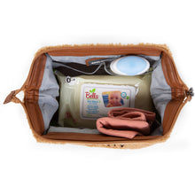 Load image into Gallery viewer, ChildHome Baby Necessities Toiletry Bag - Teddy Beige