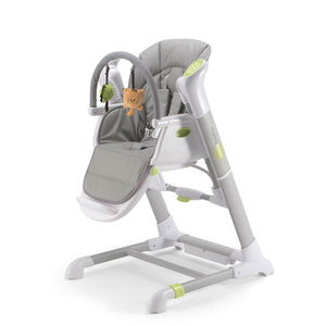 Pali Pappy Rock High Chair and Swing - Gray - Posh Baby Co.
