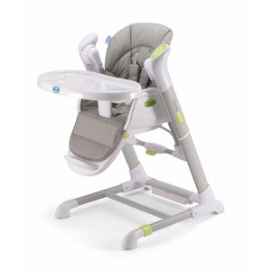 Pali Pappy Rock High Chair and Swing - Gray