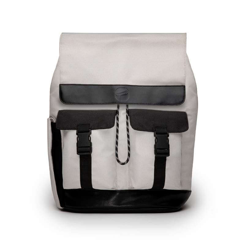 Paperclip Ranger Diaper Bag - Stone Grey