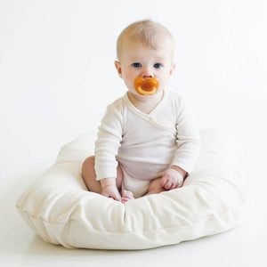 Snuggle Me Organic Bare Lounger - Sparrow - Posh Baby Co.