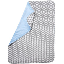 Load image into Gallery viewer, Pali Sogno 4-Piece Crib Bedding Set - Grey Sheet - Posh Baby Co.
