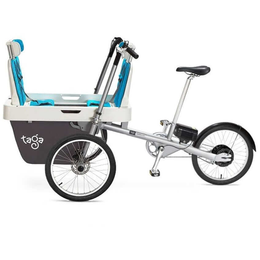 Taga 2.0 Family Cargo Bike - Duo Seater - Posh Baby Co.