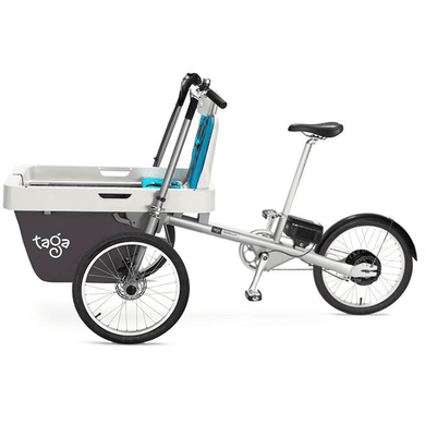 Taga 2.0 Family Cargo Bike - Single Seater - Posh Baby Co.