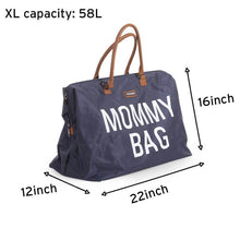 Load image into Gallery viewer, Mommy Bag Diaper Bag Bundle - Navy