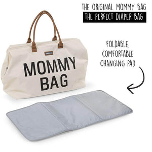 Mommy Bag - Big Off White - Posh Baby Co.