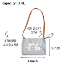 Load image into Gallery viewer, Mommy Bag Diaper Bag Bundle - Grey