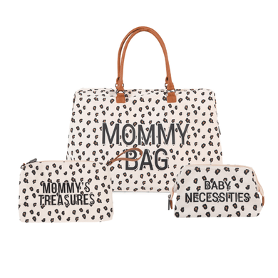 Mommy Bag Diaper Bag Bundle - Leopard