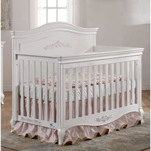 Load image into Gallery viewer, Pali Diamante 3-Piece Nursery Furniture Set in Vintage White - Decor Panel - Posh Baby Co.