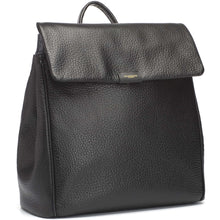 Load image into Gallery viewer, Storksak St. James Convertible Leather Backpack Diaper Bag