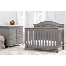 Load image into Gallery viewer, Delta Children Simmons Kids Bedford 5-Piece Baby Nursery Furniture Set - Storm - Posh Baby Co.