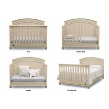 Load image into Gallery viewer, Delta Children Simmons Kids Ainsworth 5-Piece Baby Nursery Furniture Set - Antique White - Posh Baby Co.