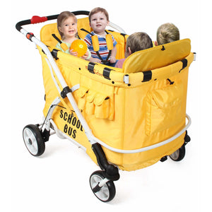 Wonderfold Wagon - Familidoo Multi-Functional Nursery Quad Stroller Wagon MJ06