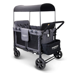 Wonderfold W4 4 Seater Multi-Function Quad Stroller Wagon