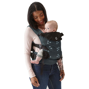Contours Love 3-in-1 Baby Carrier - Cityscape Grey - Posh Baby Co.