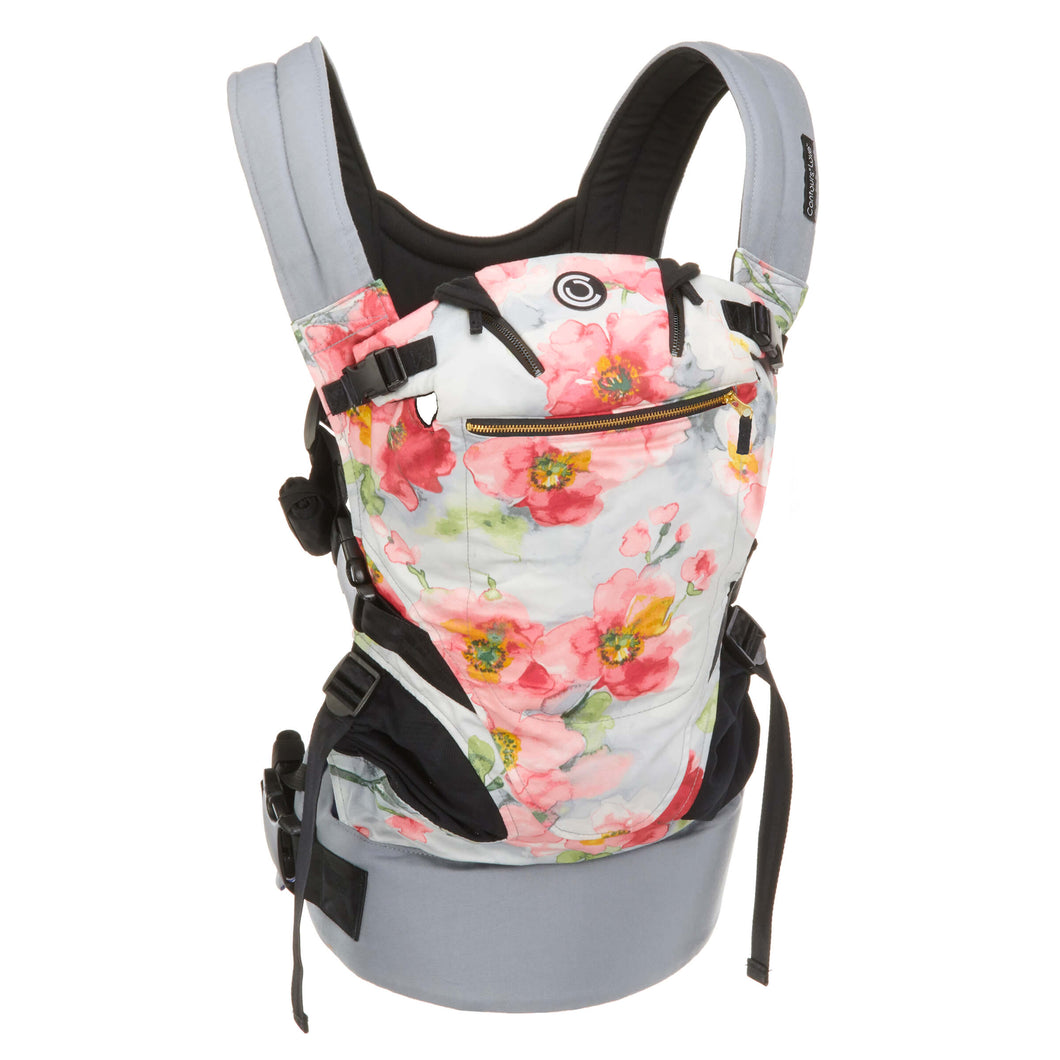 Contours Love 3-in-1 Baby Carrier - Pink Bouquet - Posh Baby Co.