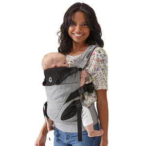 Contours Journey 5-in-1 Baby Carrier - Graphite - Posh Baby Co.