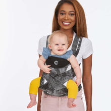 Load image into Gallery viewer, Contours Cocoon Hybrid Buckle Tie 5-in-1 Baby Carrier - Galaxy Black - Posh Baby Co.