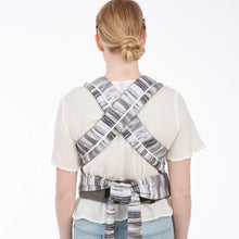 Load image into Gallery viewer, Contours Cocoon Hybrid Buckle Tie 5-in-1 Baby Carrier - Lunar Grey - Posh Baby Co.