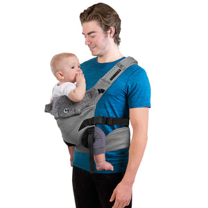 Contours Journey GO 5-in-1 Baby Carrier - Daydream Grey - Posh Baby Co.