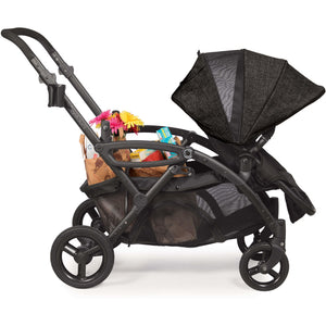 Contours Options Elite Double Stroller - Carbon - Posh Baby Co.