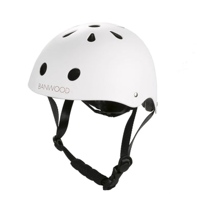 Banwood Classic Helmet - Matte White - Posh Baby Co.