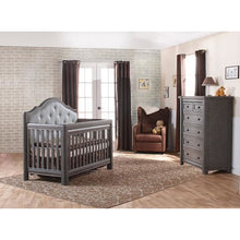 Load image into Gallery viewer, Pali Cristallo 5-Drawer Dresser in Granite - Posh Baby Co.